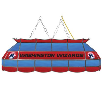3-Light Pool Table Light NBA Team: Washington Wizards