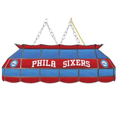 3-Light Pool Table Light NBA Team: Philadelphia 76ers