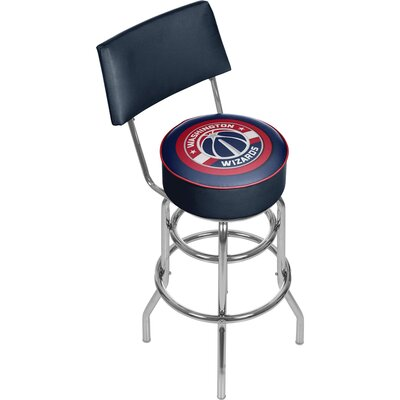 31 Swivel Bar Stool NBA Team: Washington Wizards