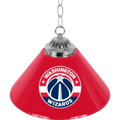 NBA Single Bar Lamp NBA Team: Washington Wizards