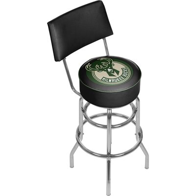 31 Swivel Bar Stool NBA Team: Milwaukee Bucks