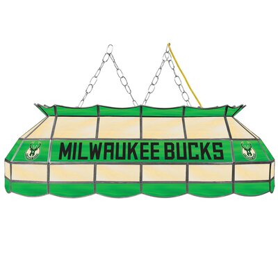 3-Light Pool Table Light NBA Team: Milwaukee Bucks