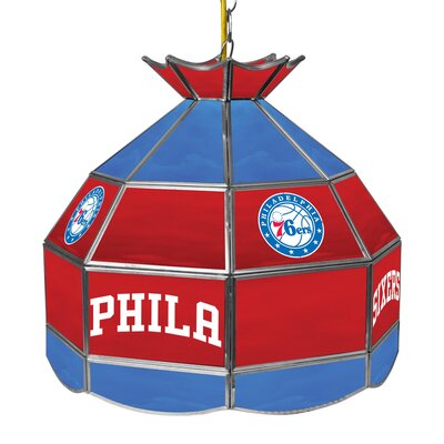 1-Light Tiffany Vanity Light NBA Team: Philadelphia 76ers