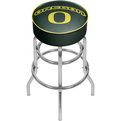 University of Oregon 31 Swivel Bar Stool Logo: Text