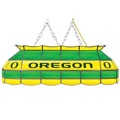 University of Oregon 3-Light Billiard Light