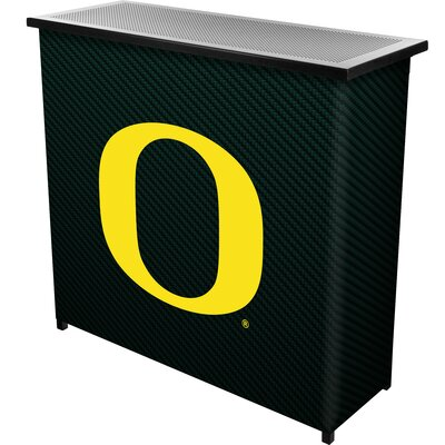 University of Oregon Home Bar Logo: Carbon Fiber