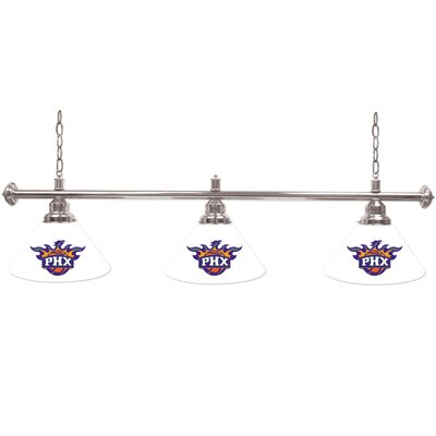 NBA 3-Light Billiard Light NBA Team: Phoenix Suns