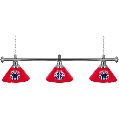 NBA 3-Light Billiard Light NBA Team: Washington Wizards