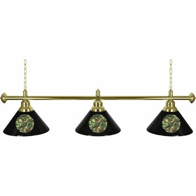 Hunt Camo 3-Light Billiard Light