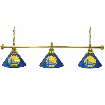 NBA 3-Light Billiard Light NBA Team: Golden State Warriors