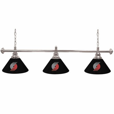 NBA 3-Light Billiard Light NBA Team: Portland Trail Blazers