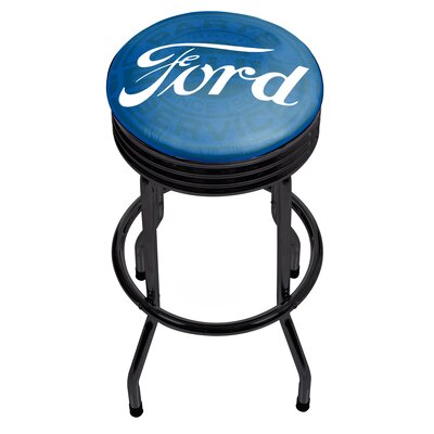 29 Swivel Bar Stool Finish: Black
