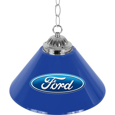 Ford Oval 1-Light Bowl Pendant