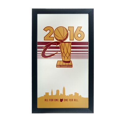 NBA Cleveland Cavaliers 2016 Champions Framed Graphic Art NBA1500-CC-C16