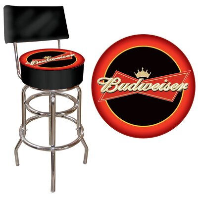 Budweiser 31 inch Swivel Bar Stool