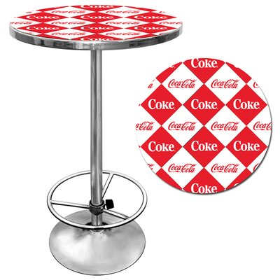Credit for Checker Coca Cola Pub Table...