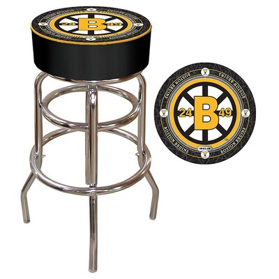 NHL Montreal Canadians 31 Swivel Bar Stool NHL Team: Boston Bruins - Throwback