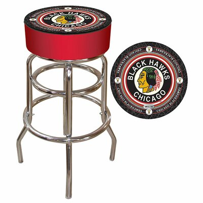 NHL Montreal Canadians 31 inch Swivel Bar Stool NHL Team: Chicago Blackhawks - Throwback
