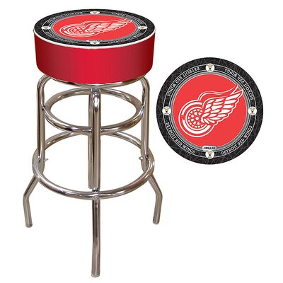 NHL Montreal Canadians 31 Swivel Bar Stool NHL Team: Detroit Red Wings - Throwback