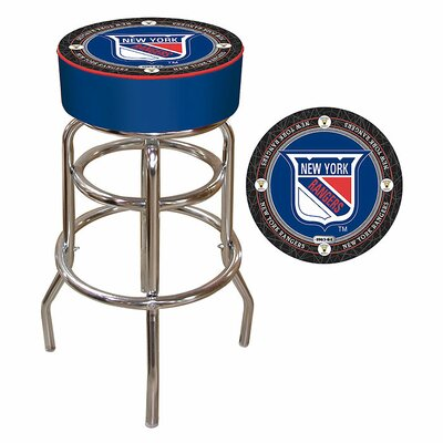 NHL Montreal Canadians 31 Swivel Bar Stool NHL Team: New York Rangers - Throwback