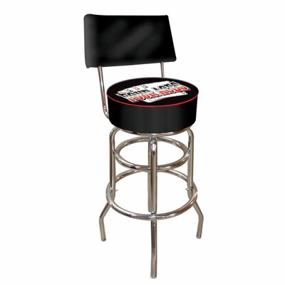 Four Aces 31 inch Swivel Bar Stool