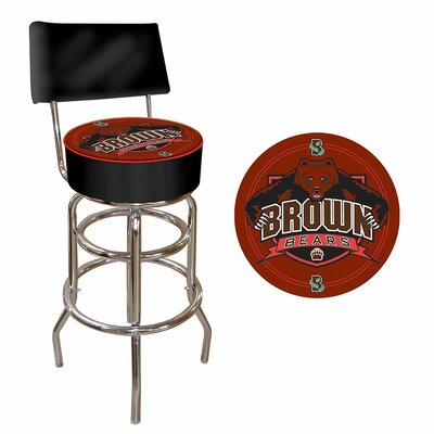 31 Swivel Bar Stool NCAA Team: Brown University