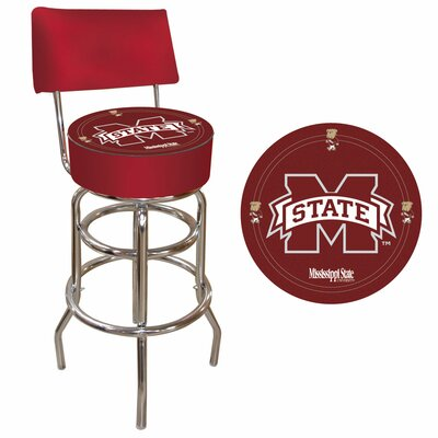 31 Swivel Bar Stool NCAA Team: Mississippi State