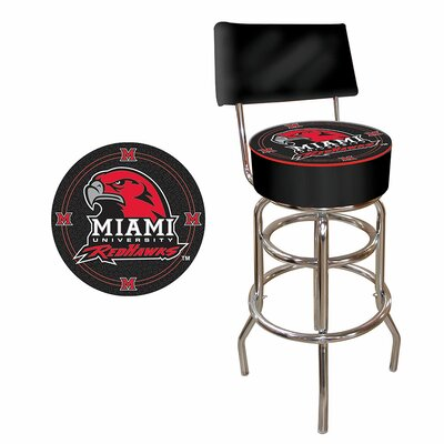 31 Swivel Bar Stool NCAA Team: Miami