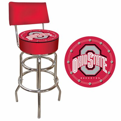 31 Swivel Bar Stool NCAA Team: Ohio State