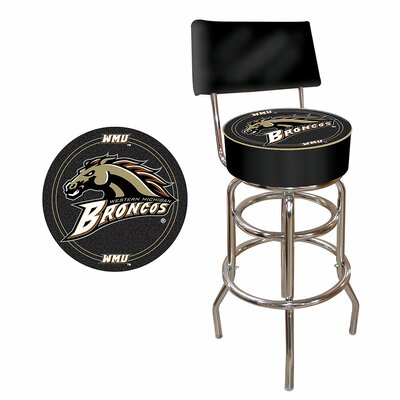 31 Swivel Bar Stool NCAA Team: Western Michigan University