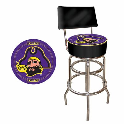 31 Swivel Bar Stool NCAA Team: East Carolina
