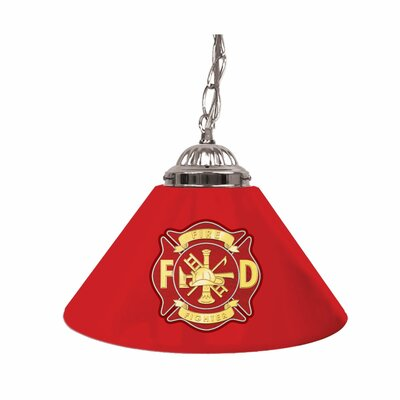 Fire Fighter 14 Single Shade Bar Lamp