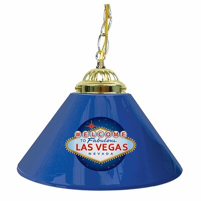 Welcome to Las Vegas 14 Single Shade Bar Lamp
