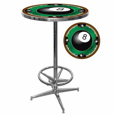 In store financing 8-Ball Pub Table with Foot Rest...