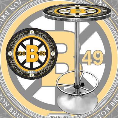 NHL Pub Table NHL Team: Boston Bruins - Vintage