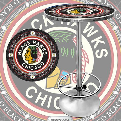 NHL Pub Table NHL Team: Chicago Blackhawks - Vintage
