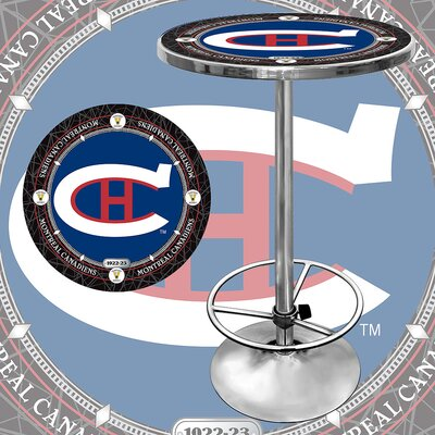 NHL Pub Table NHL Team: Montreal Canadiens - Vintage