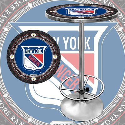 NHL Pub Table NHL Team: New York Rangers - Vintage