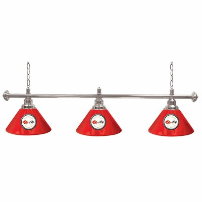 Corvette C1 3-Light Billiard Light Color: Red