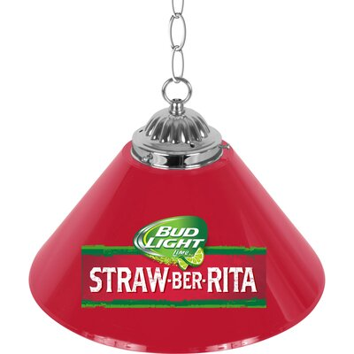 Bud Light Straw-Ber-Rita Single Shade 1-Light Mini Pendant