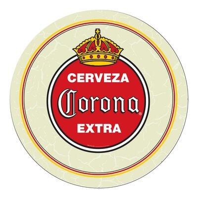 Corona Vintage Swivel Bar Stool