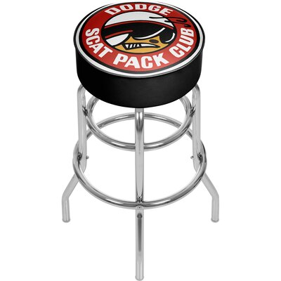 Dodge Scat Pack Club 31 Swivel Bar Stool