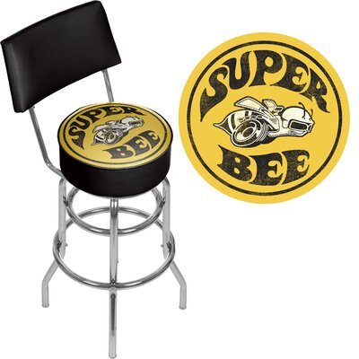 Dodge Super Bee 31 Swivel Bar Stool