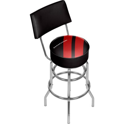 Dodge Big Stripe 31 Swivel Bar Stool