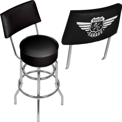 Dodge Garage 31 Swivel Bar Stool