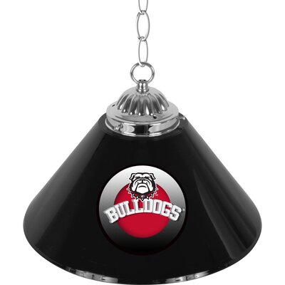 University of Georgia Single Shade Bar 1-Light Bowl Pendant