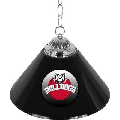 University of Georgia Single Shade Bar 1-Light Bowl Pendant