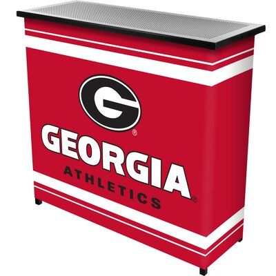 University of Georgia Portable Home Bar
