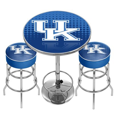 NCAA Game Room Combo Pub Table NCAA Team: University of Kentucky