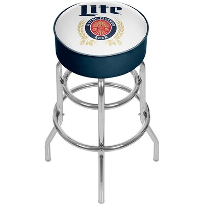 Miller Lite Retro 31 Swivel Bar Stool